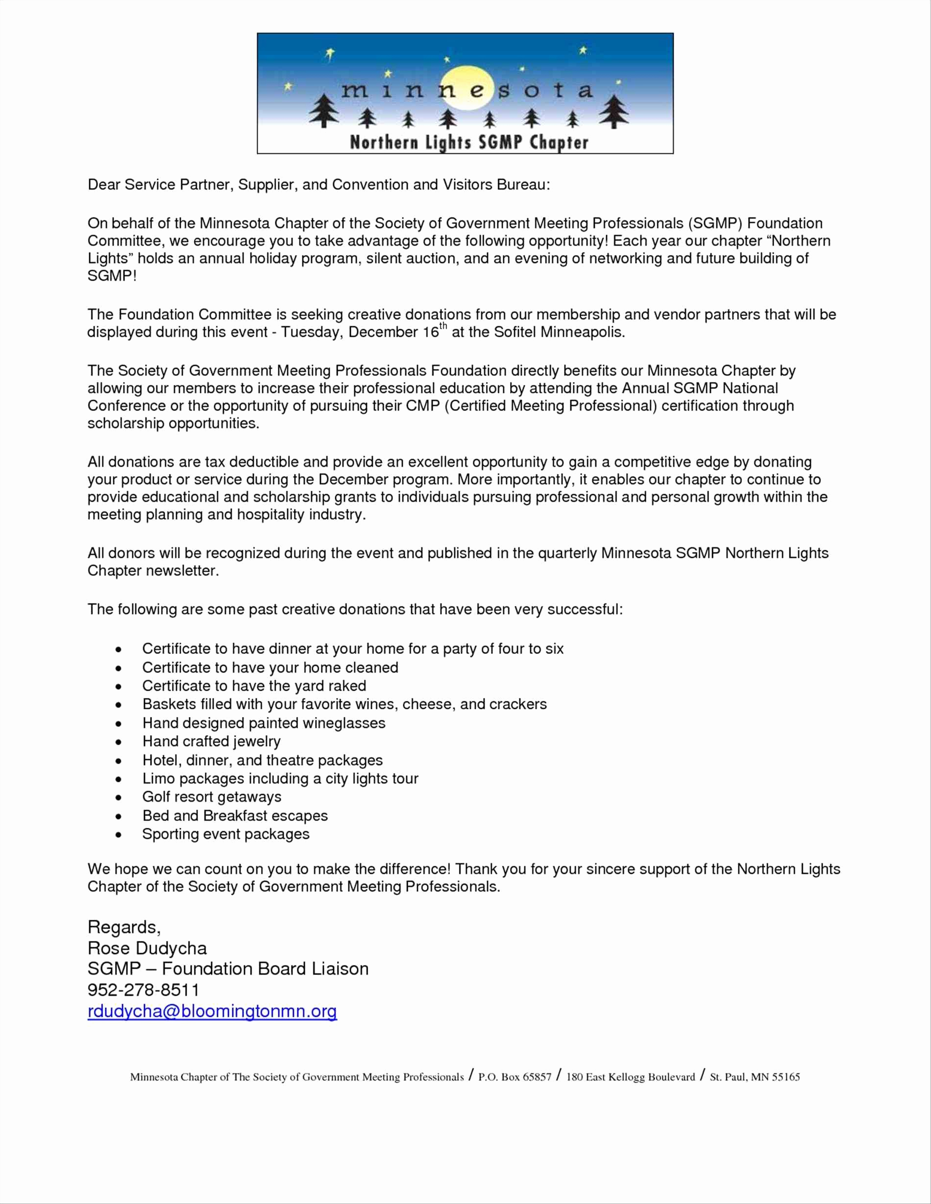 Golf tournament Donation Letter Template - 11 New Tax Donation Letter Template Iowadefensealliance