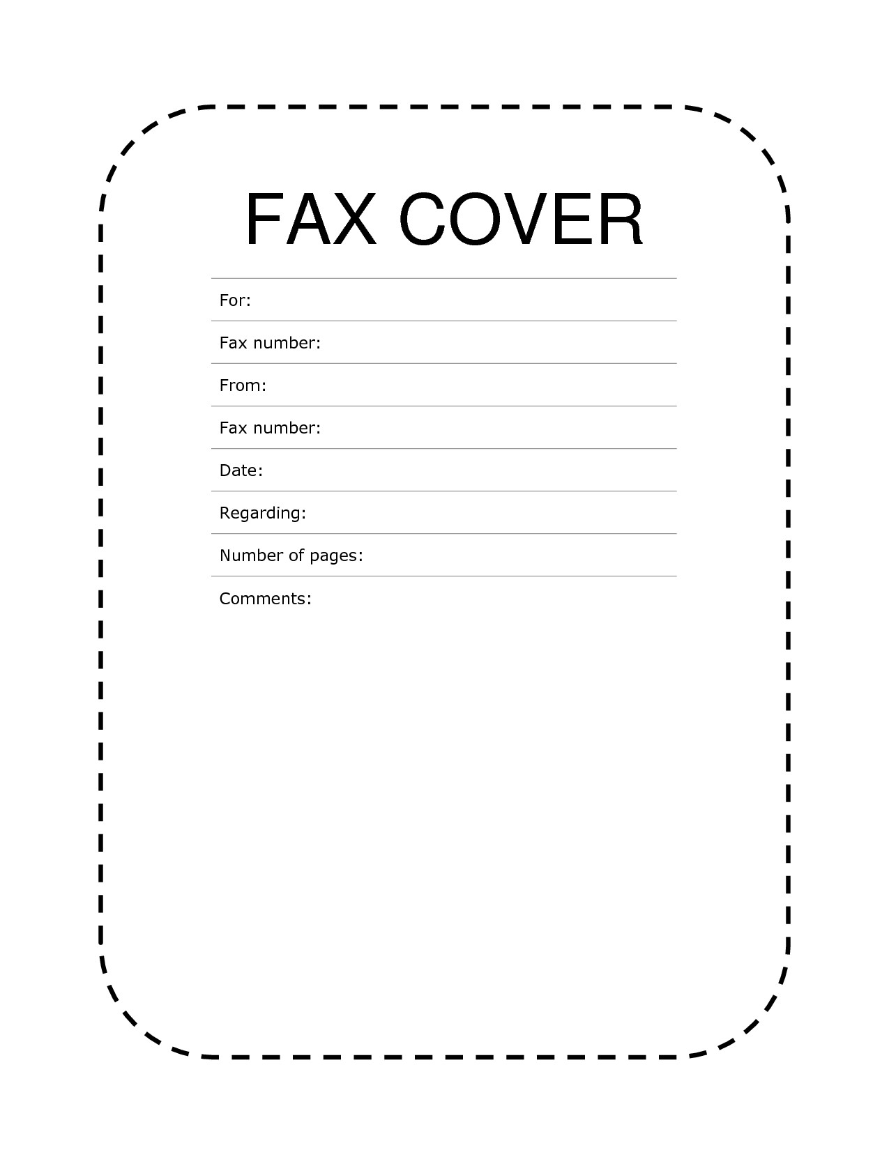 Free Printable Fax Cover Letter Template - 12 New Fax Header Template Word S