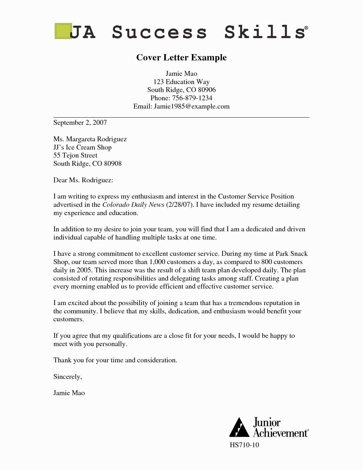 Voluntary Disclosure Letter Template - 14 Unique Cover Letter Template Examples