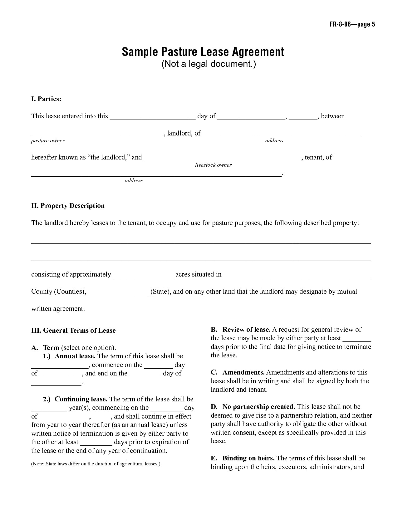 Lease Commencement Letter Template - 18 New Rental Lease Contract