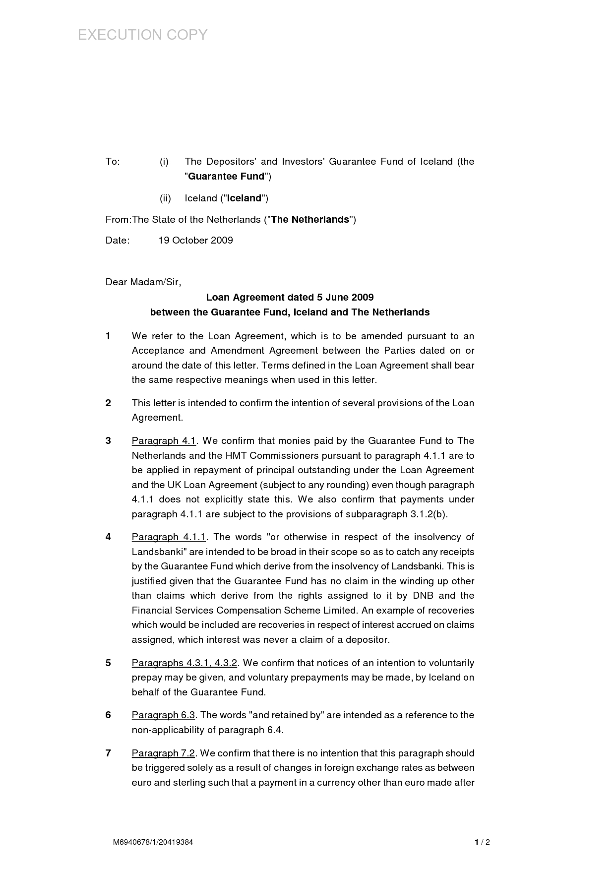 side letter lease template Collection-loan agreement letter format personal sample equipment between two 17-j
