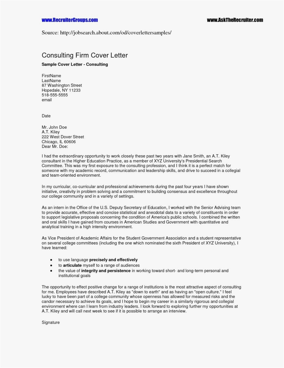 Consignment Letter Template - 20 Resume Letters Simple