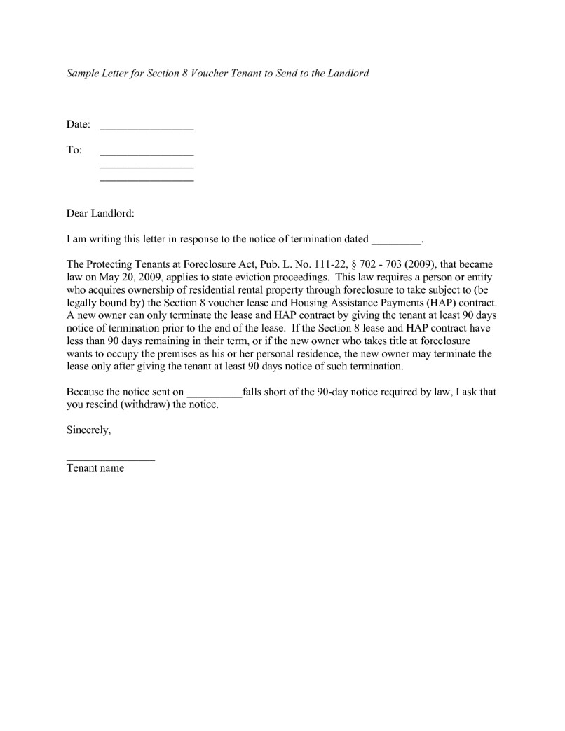 Tenant Warning Letter Template - 20 Unique 60 Day Notice Termination Tenancy Template