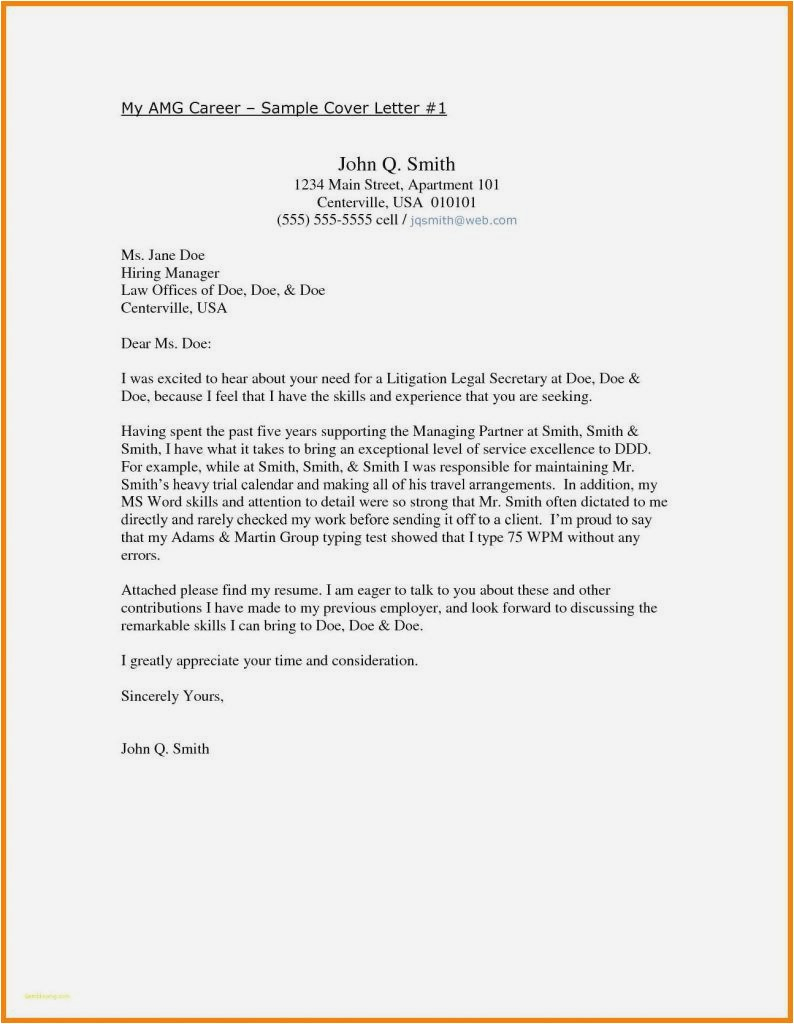 Renters Insurance Letter Template - 22 New Writing A Resume Cover Letter Free Download