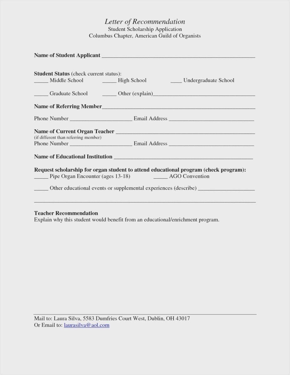 Template for Writing A Letter Of Recommendation for A Scholarship - 23 Best How to ask for Letter Re Mendation Examples