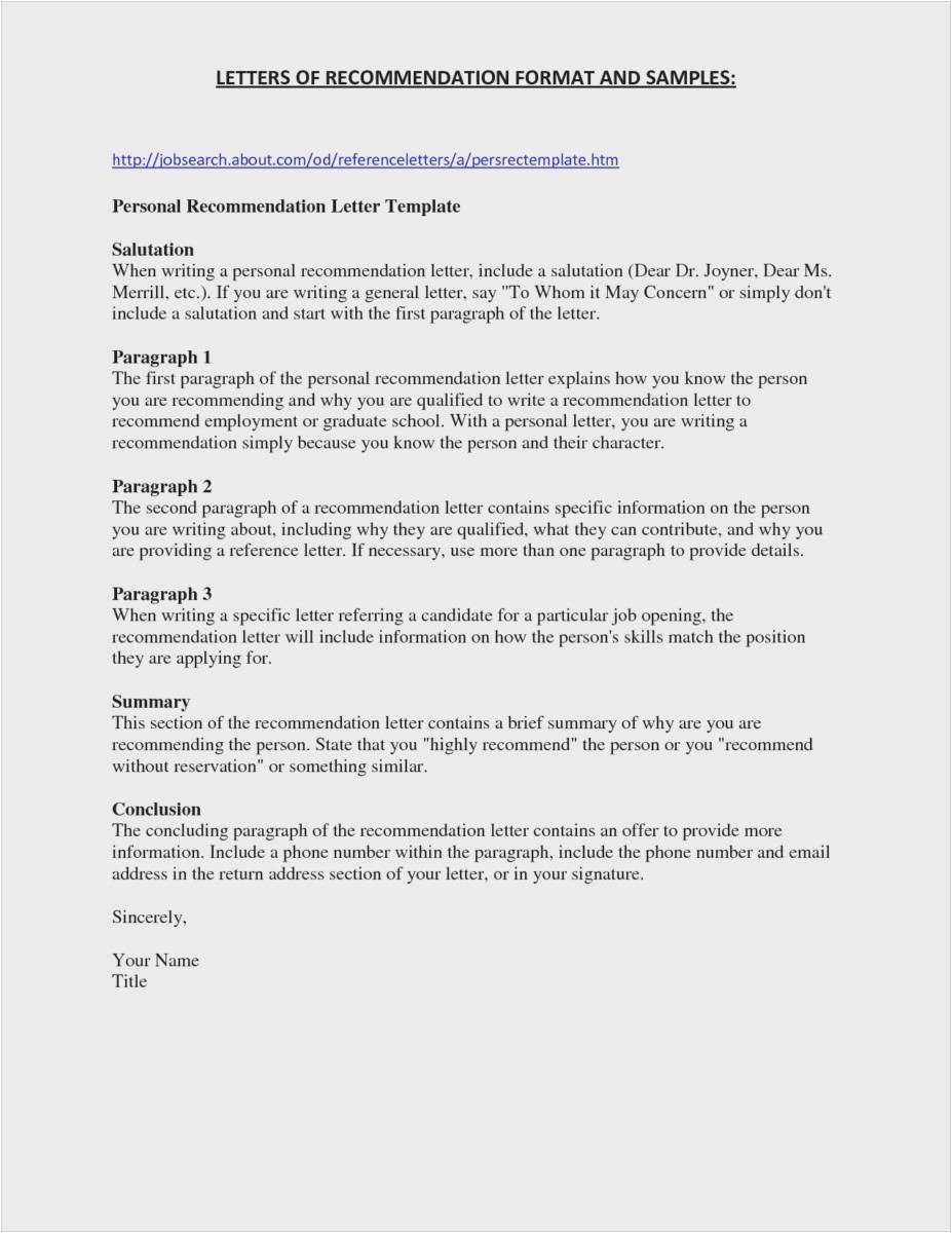 School Recommendation Letter Template - 23 New College Re Mendation Letter Professional