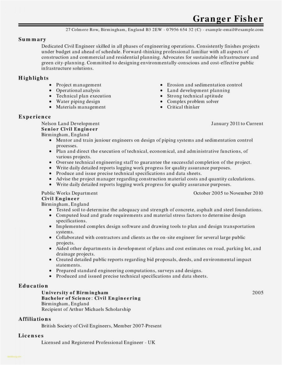 Expert Opinion Letter Template - 25 How to Write A Resume and Cover Letter Example