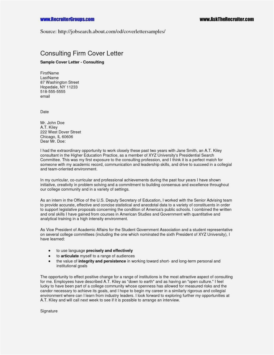 Best Free Cover Letter Template - 26 Best Free Cover Letter New