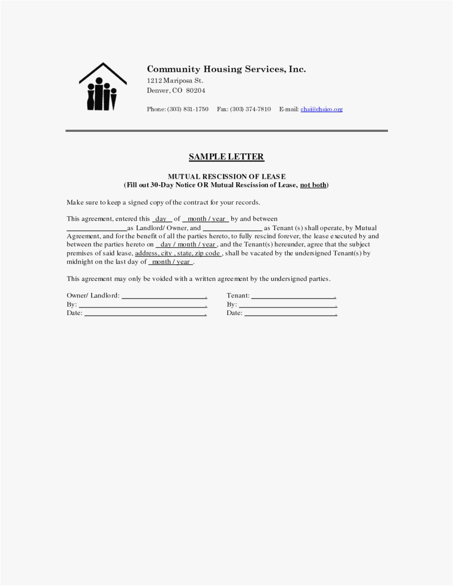 Tenancy Notice Letter Template - 27 30 Day Notice to Vacate Template Picture