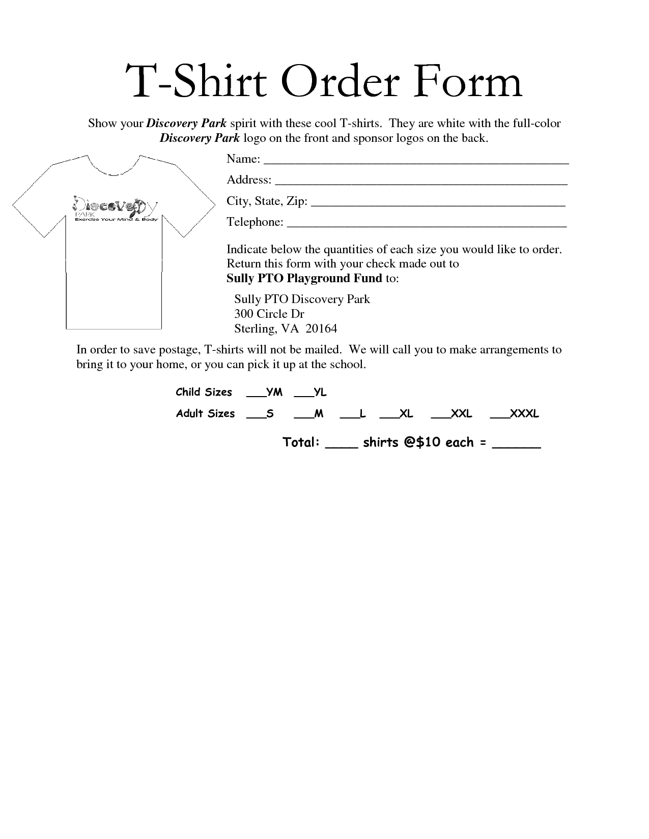Cheerleading Donation Letter Template - 35 Awesome T Shirt order form Template Free Images