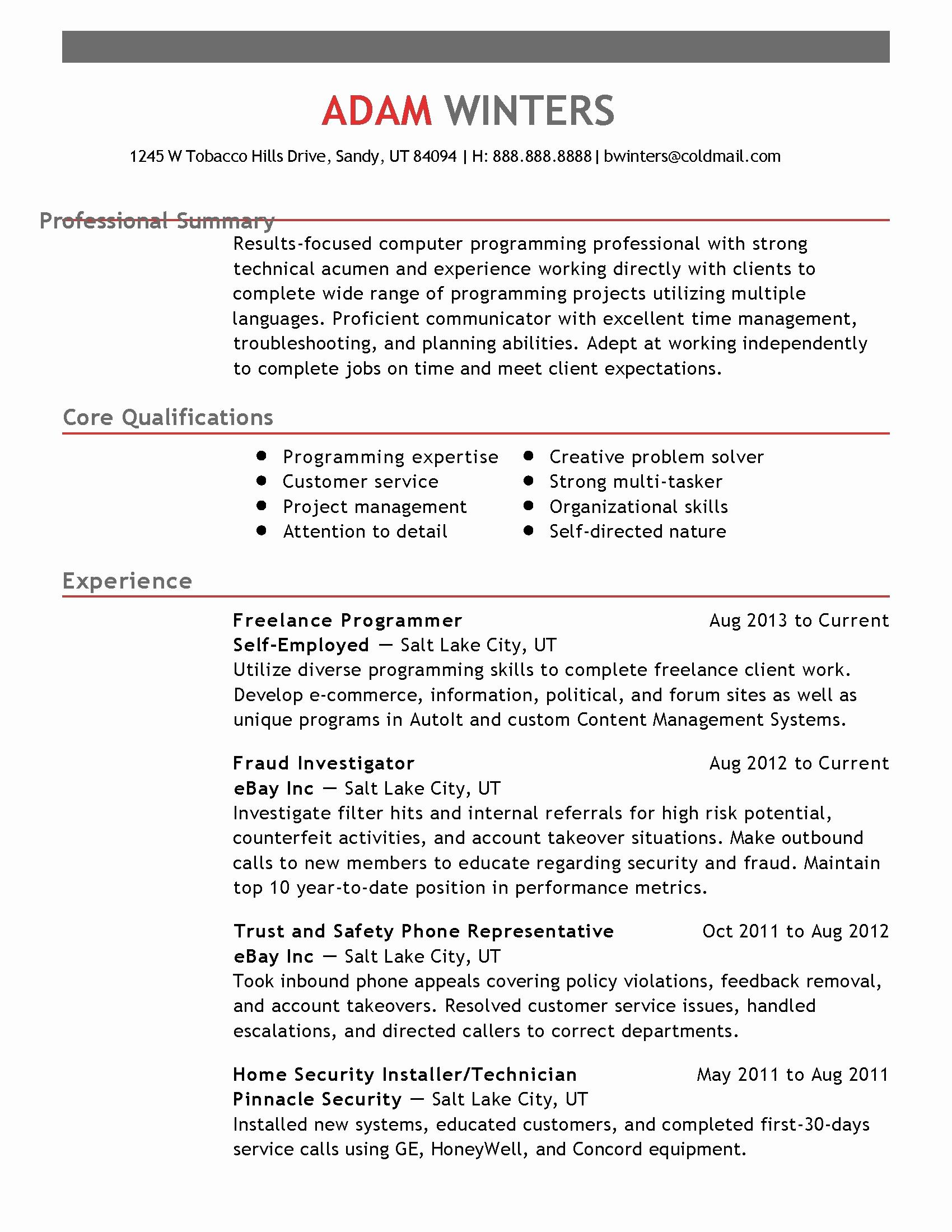 Modern Resume And Cover Letter Template