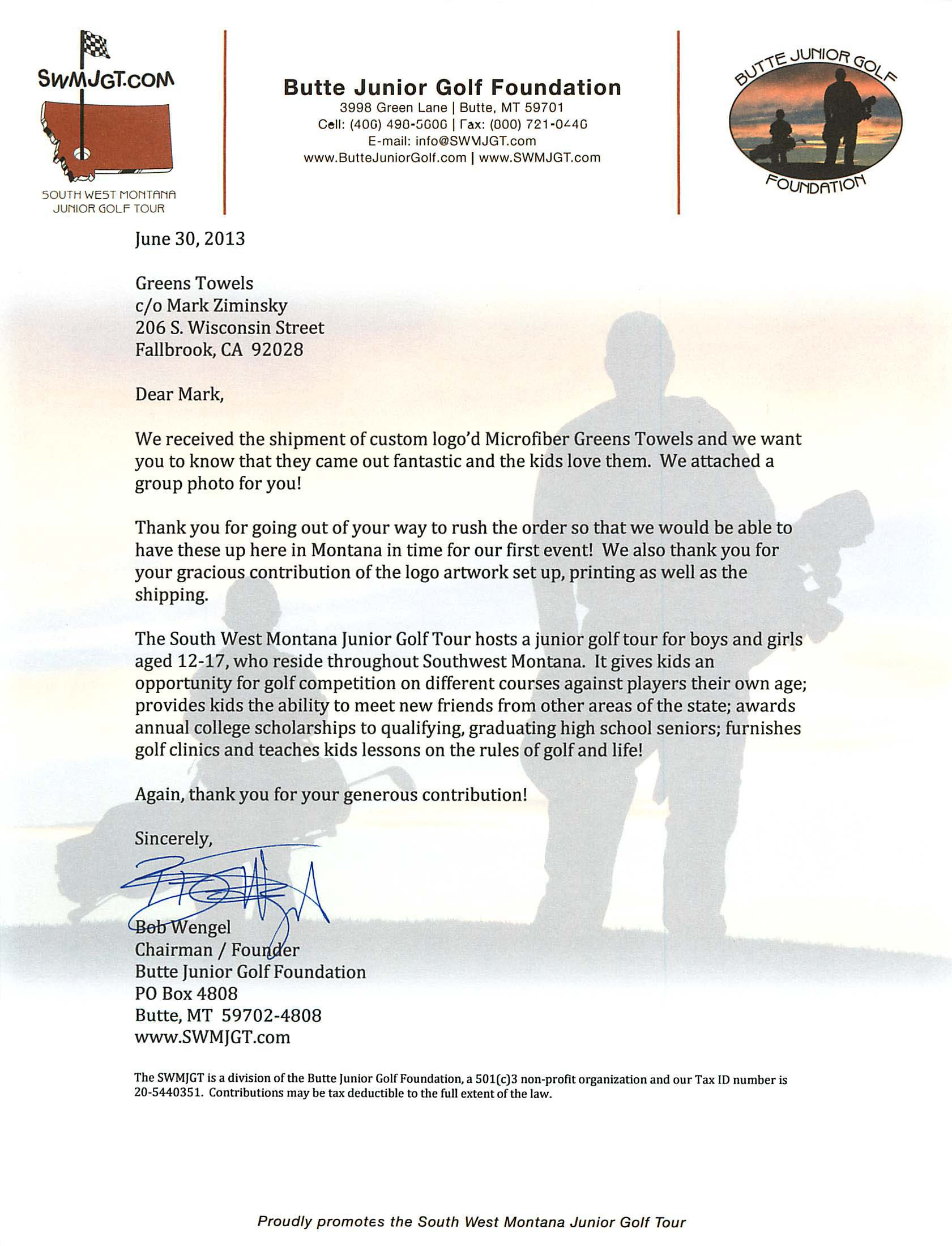 Golf tournament Thank You Letter Template - 40 Fresh Sponsorship Request Letter for event