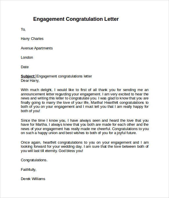 Letter Of Engagement Template for Hiring New Employees - 9 Sample Engagement Letters to Download
