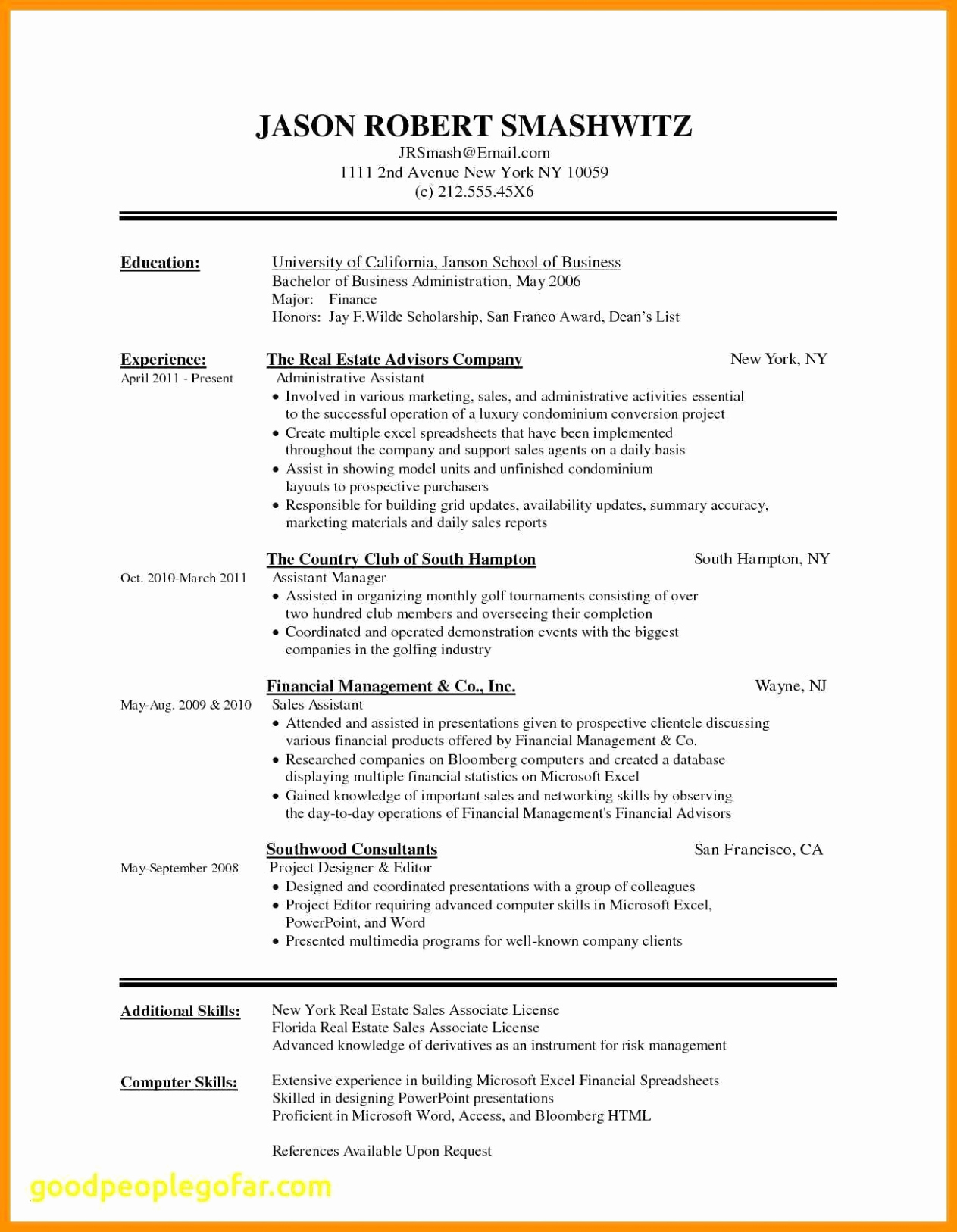 Resume Cover Letter Template Word Free - Acting Resume Templates for Microsoft Word