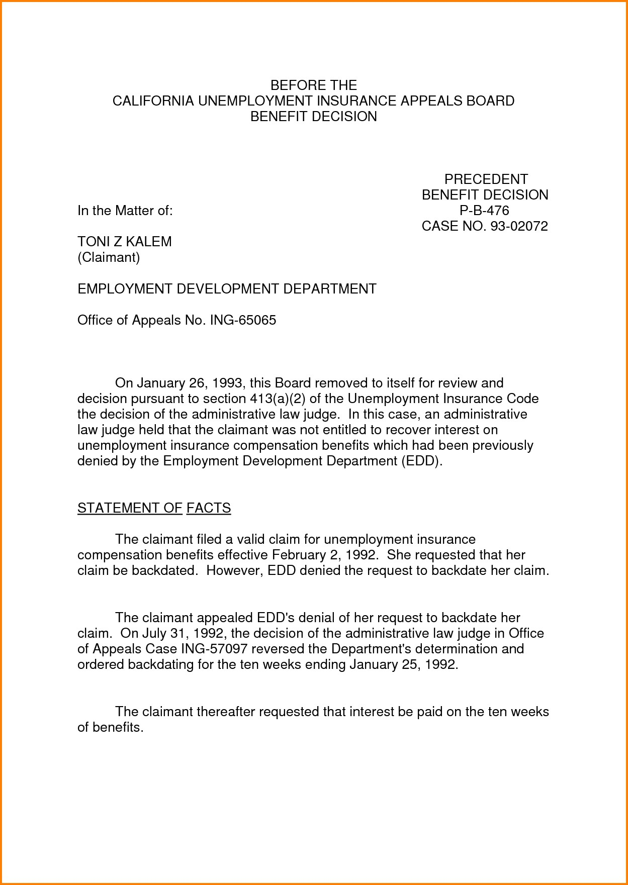 10 day appeal letter template collection letter cover templates 10 day appeal letter template appeal letter format for unemployment best 8 sample appeal letter spiritdancerdesigns Gallery