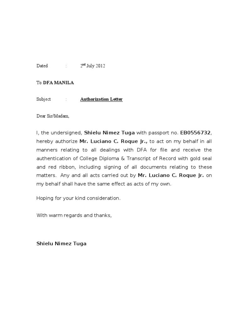 Self Storage Rent Increase Letter Template - Authorization Letter Dfa Sample for Claiming Lowrider Car Pictures
