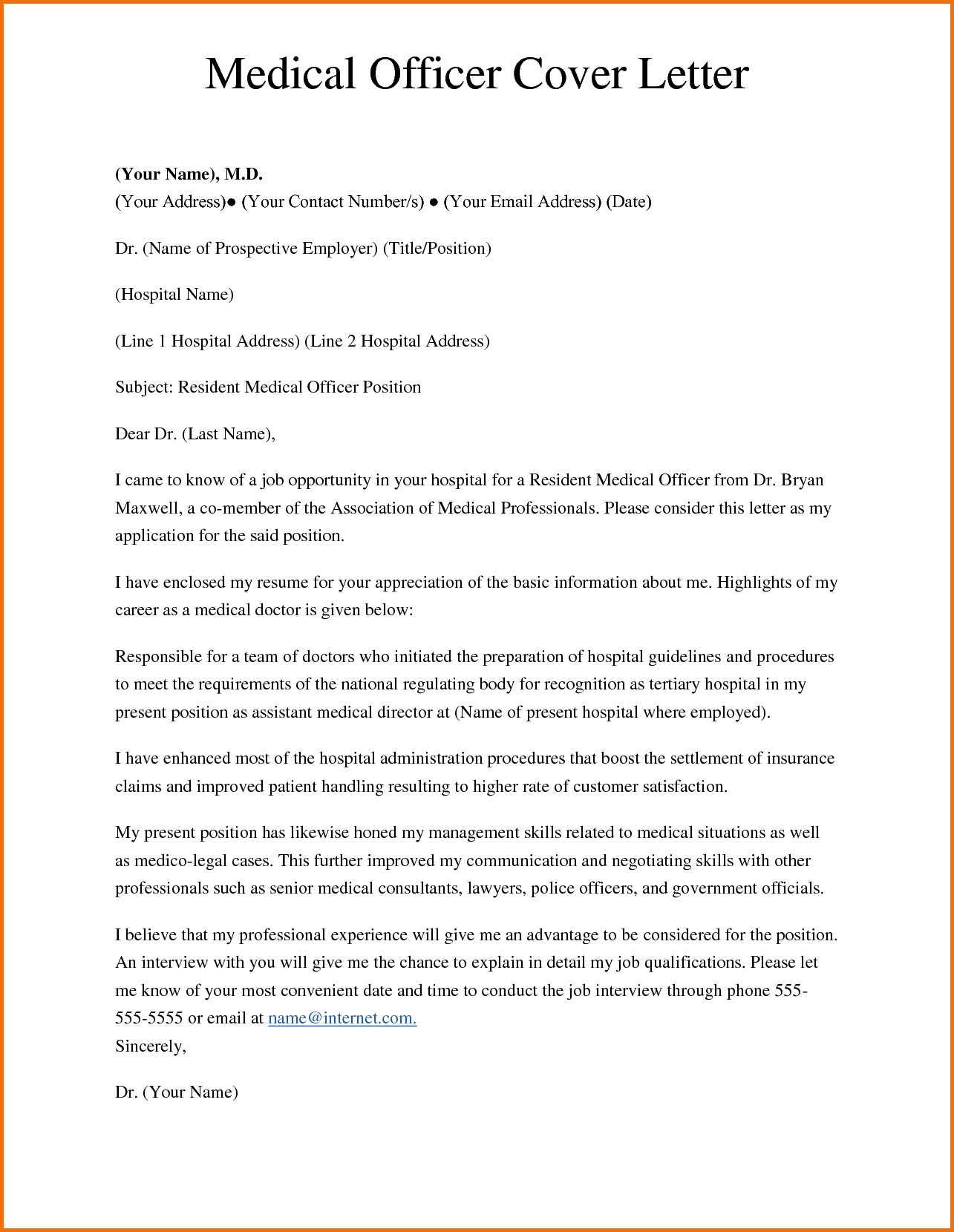 Addendum to Offer Letter Template - Awesome Application Letter Sample format 12th Amendment
