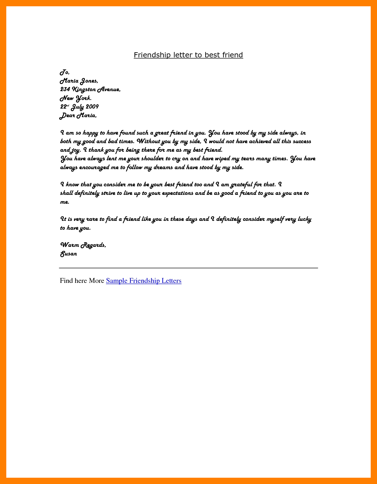 California Offer Letter Template - Awesome How to Write A Re Mendation Letter for A Friend Fo