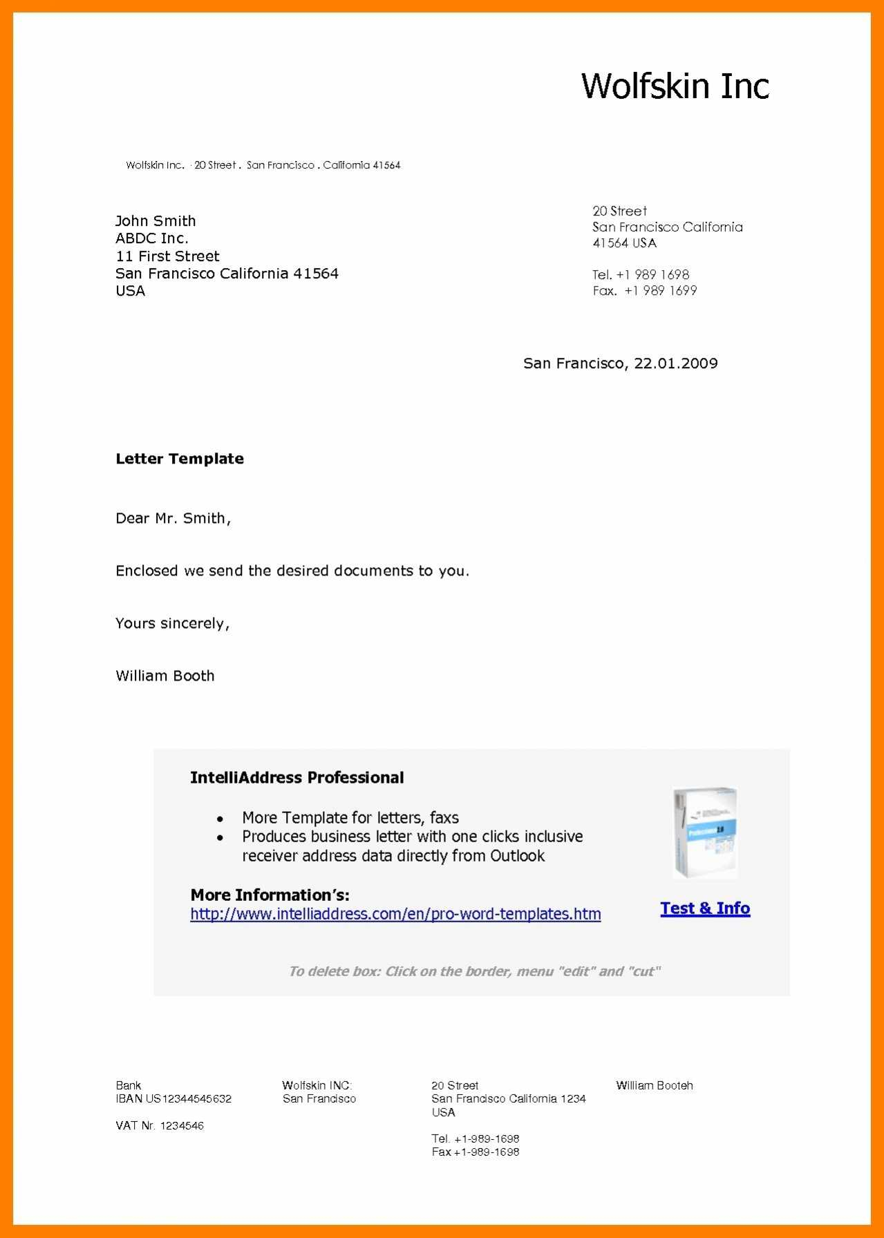 Letter From Santa Template Word - Beautiful Free Cover Letter Template Word