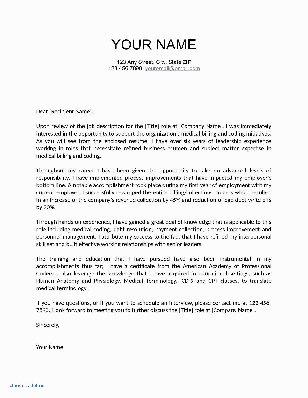 Cover Letter Template for Teenager - Beautiful Professional Job Application Letter Template