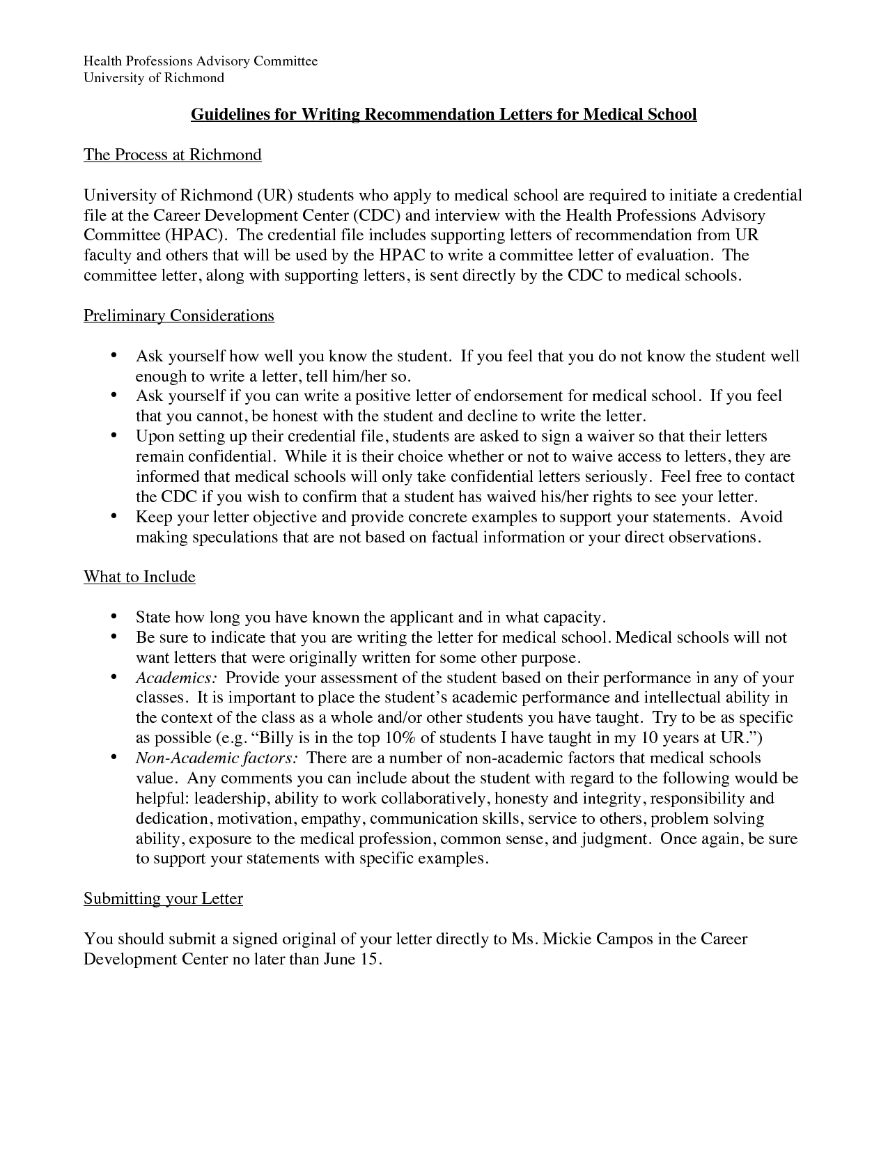 Medical School Reference Letter Template - Best Doctors Note for School Template