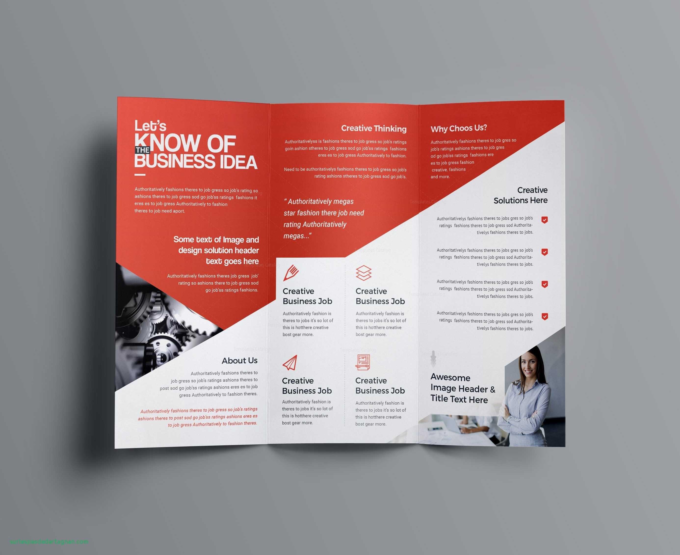 Tri Fold Letter Template - Business Brochure Template New Graphic Design Brochure Templates