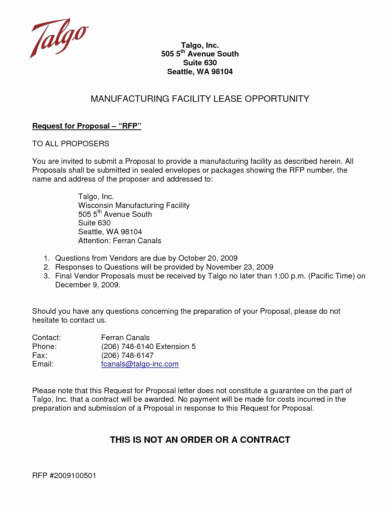 Business Proposal Letter Template Free Download - Business Proposal Offer Letter Template Business Proposal Letter to