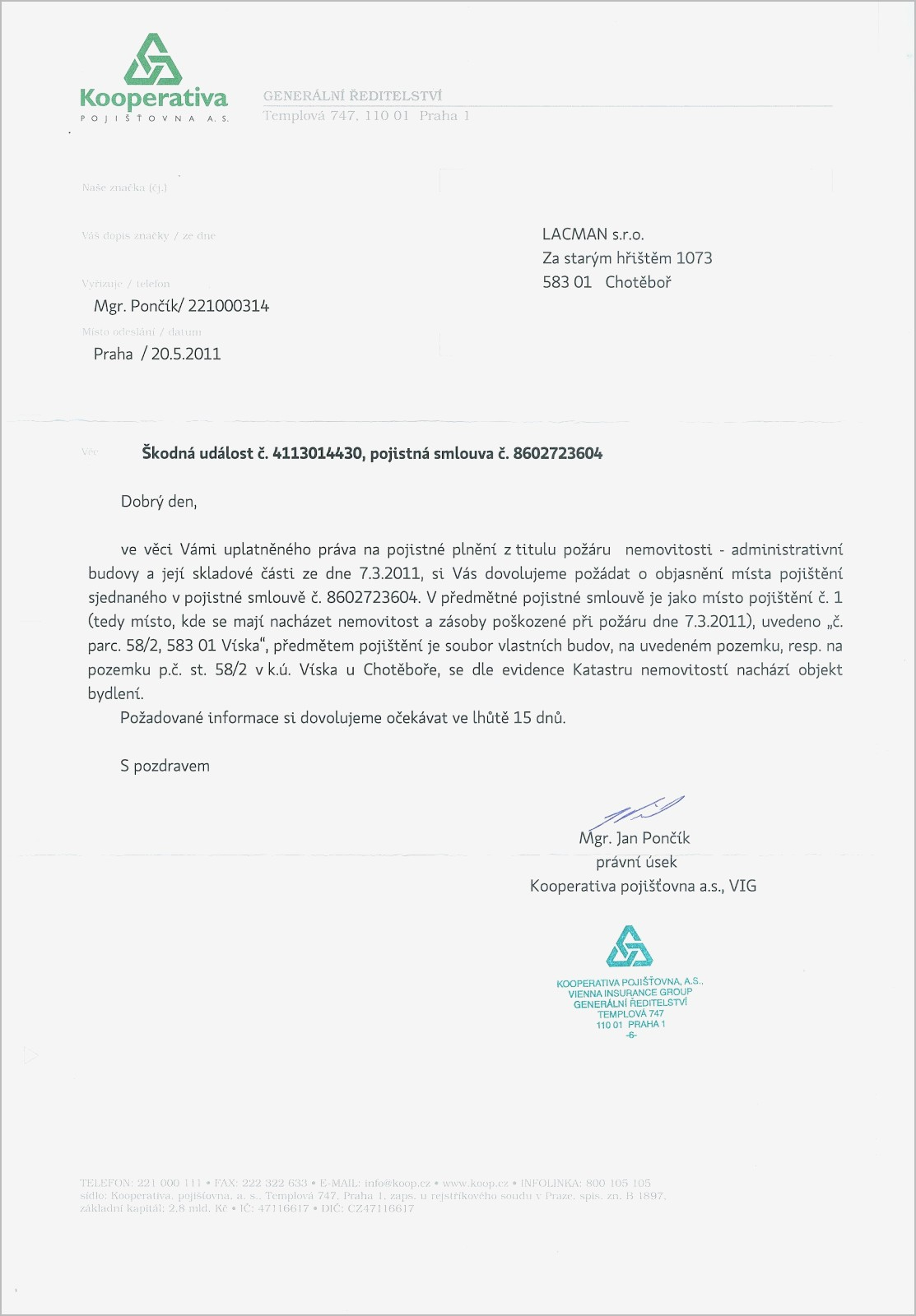 Car accident settlement letter template samples letter cover templates car accident settlement letter template spiritdancerdesigns Gallery