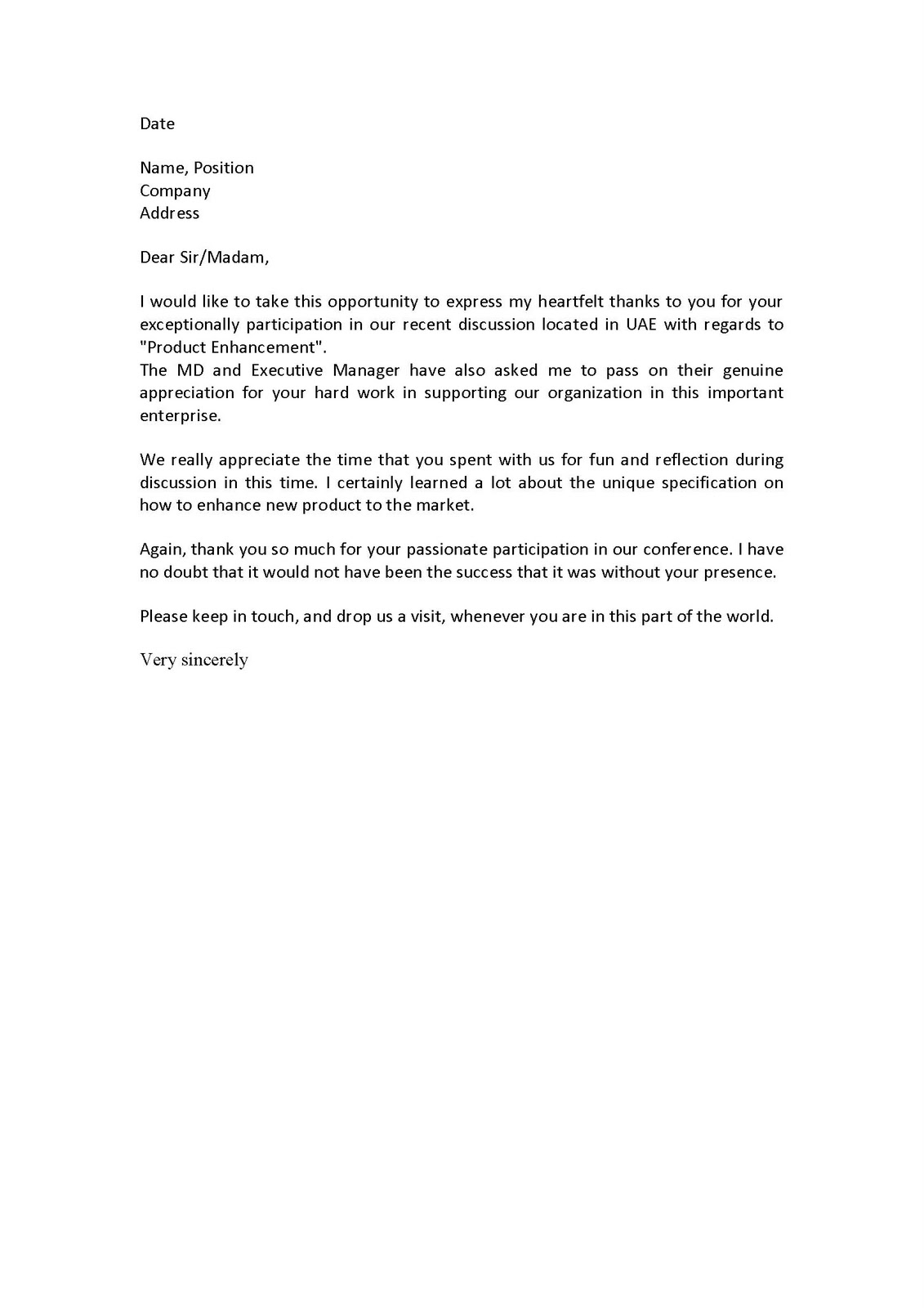 Personal Reference Letter for A Friend Template - Character Reference Letter for A Friend Pdf format