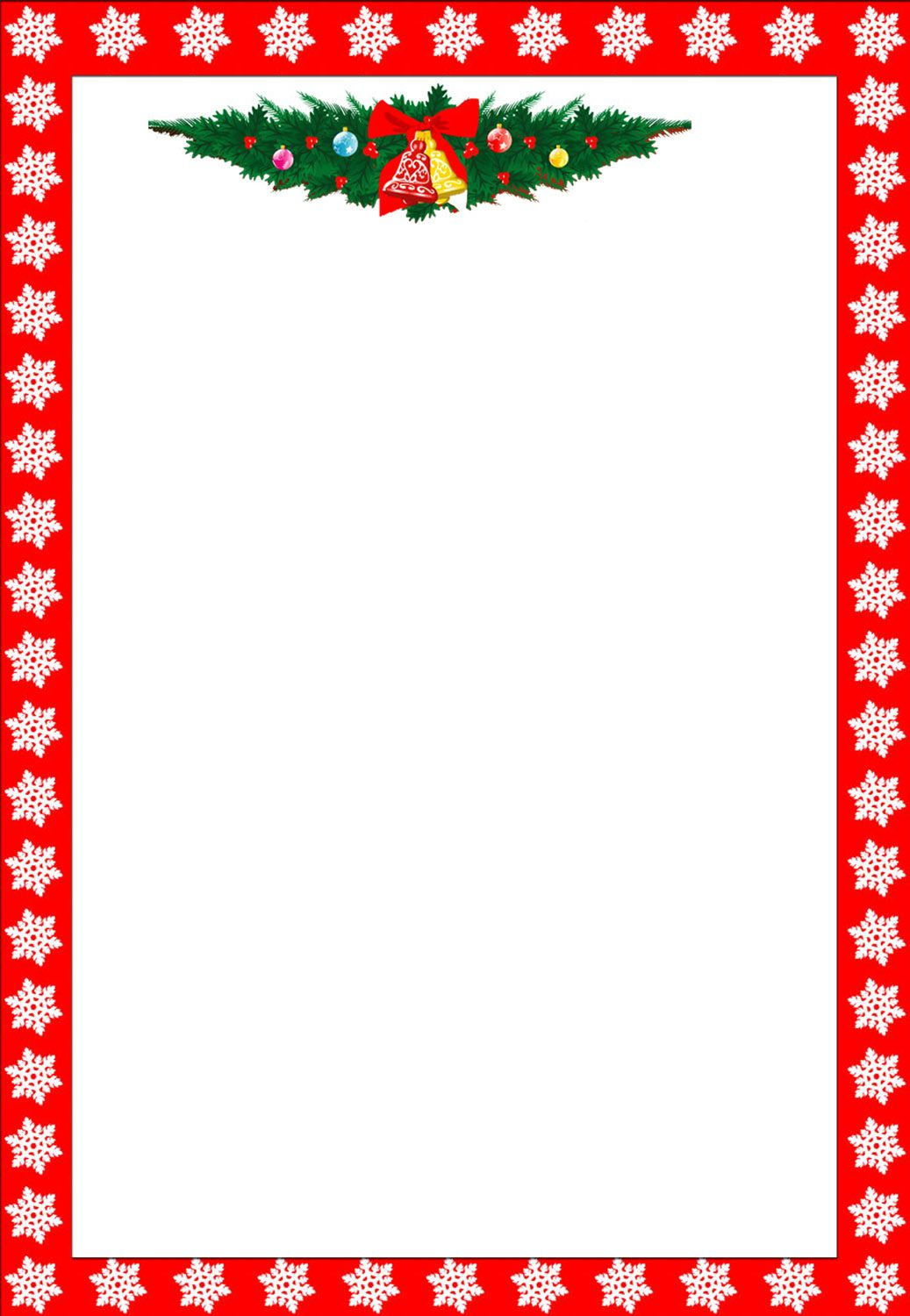 christmas letter border template example-Christmas Clip Art Borders 10-r