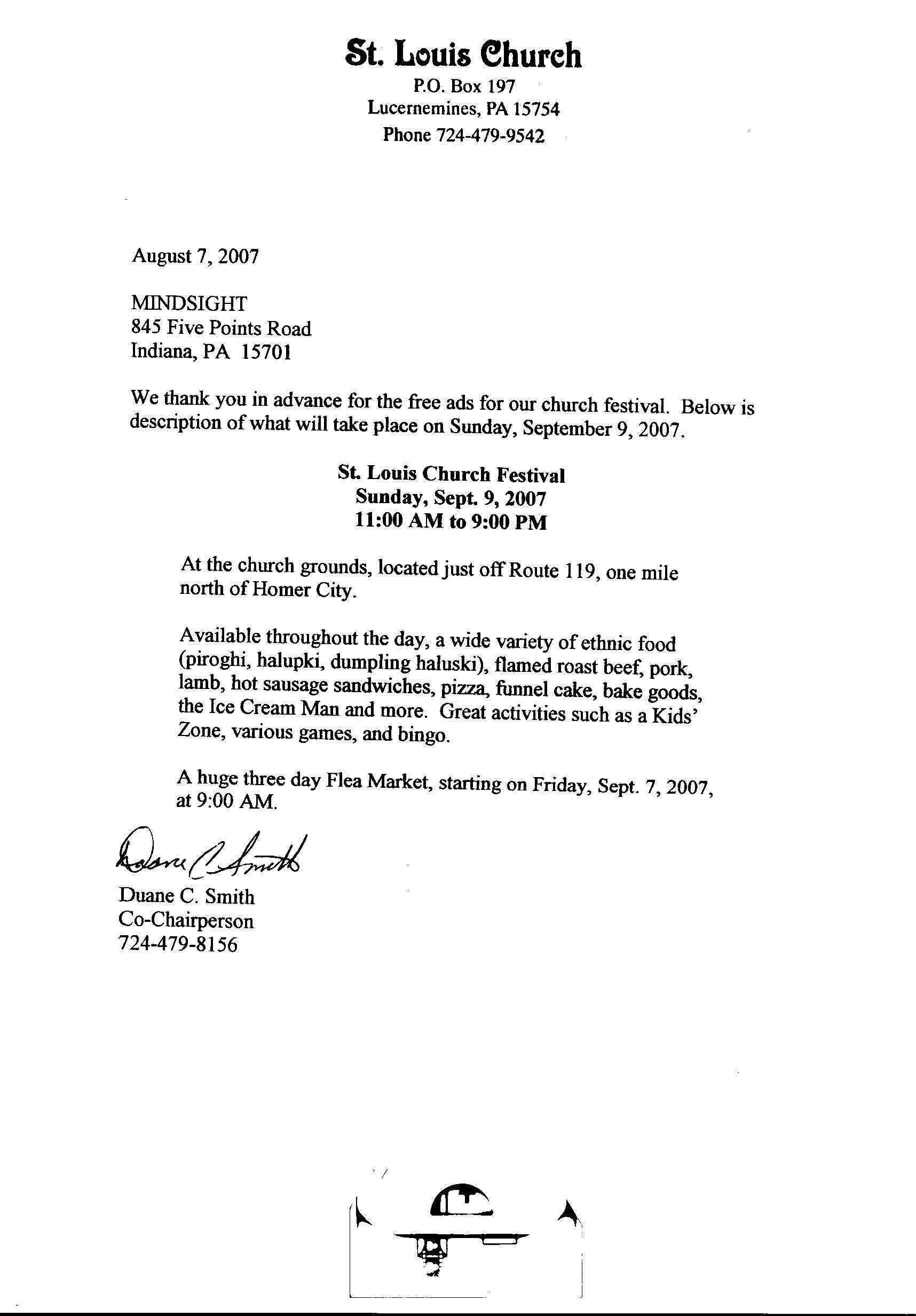 Non Profit Thank You Letter Template - Church Donation form Template to Her with Donation Thank You