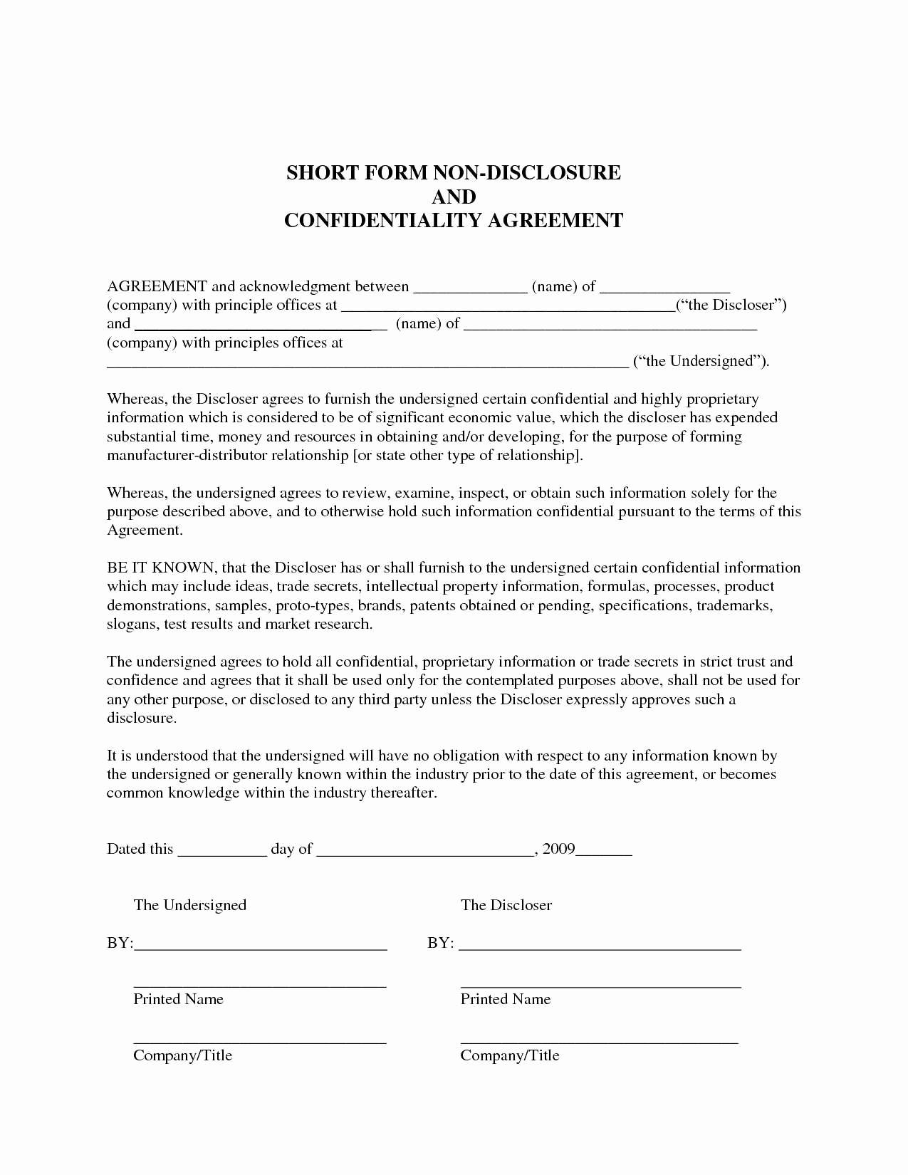 Letter Of Agreement Template - Co Promotion Agreement Template New Co Promotion Agreement Template