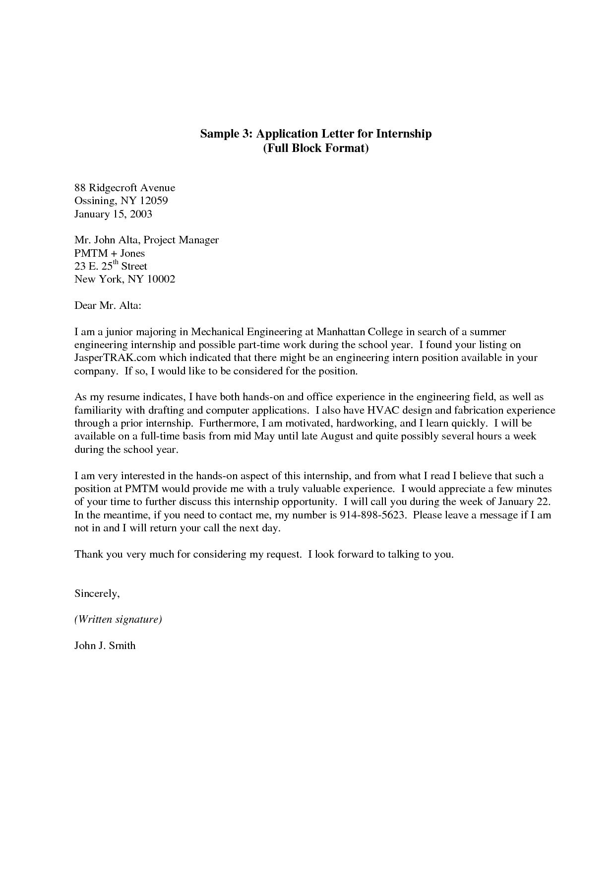 Thank You Cover Letter Template - Cover Letter Example for Job Save Cover Letter Examples for