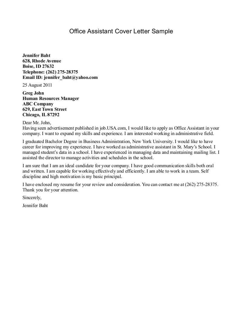 Cover Letter Template for Medical Office assistant - Cover Letter for Resume for Medical assistant Cover Letters for