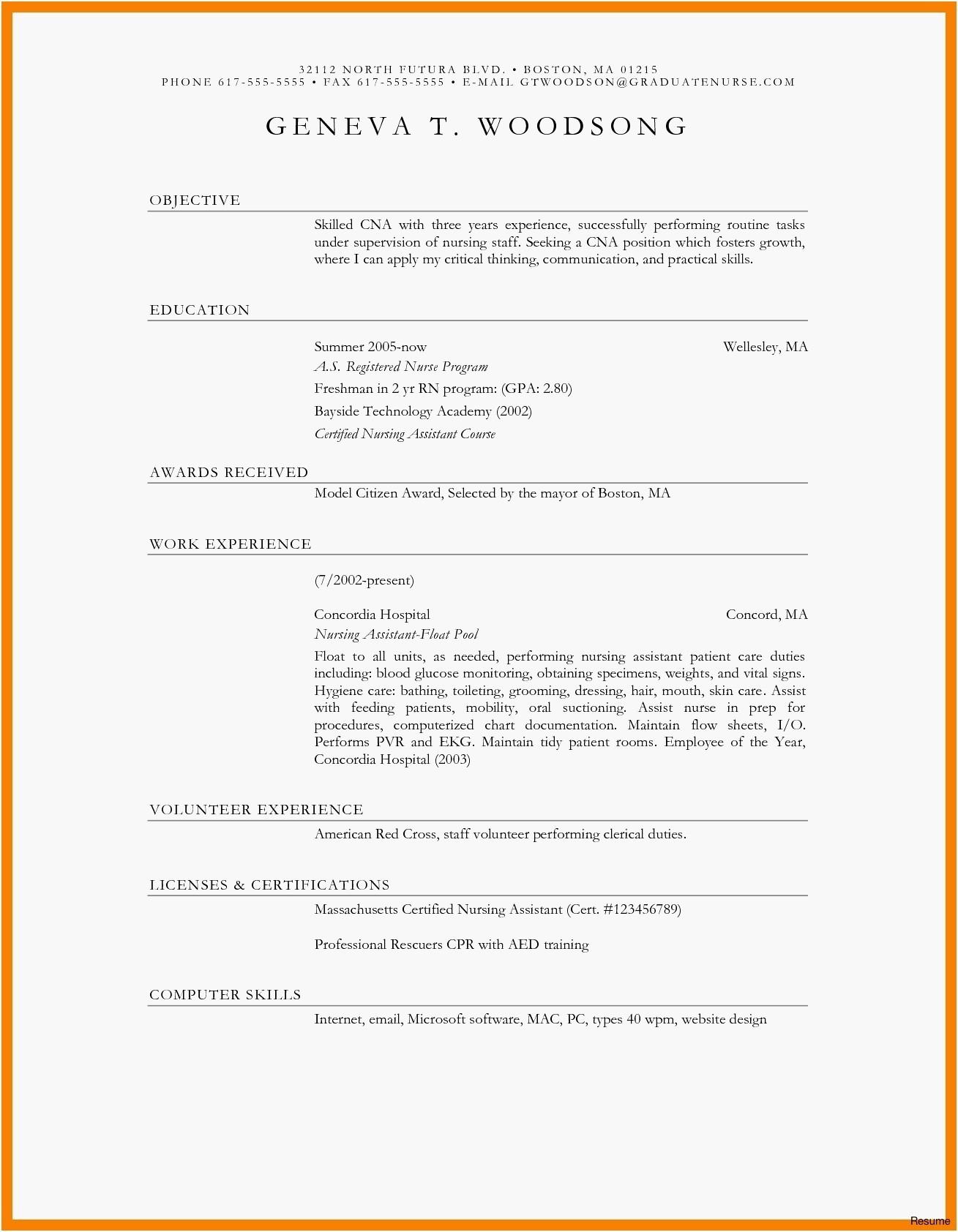 Simple Resume Cover Letter Template - Cover Letter for Resume Template Fresh 22 Luxury Free Resume Cover