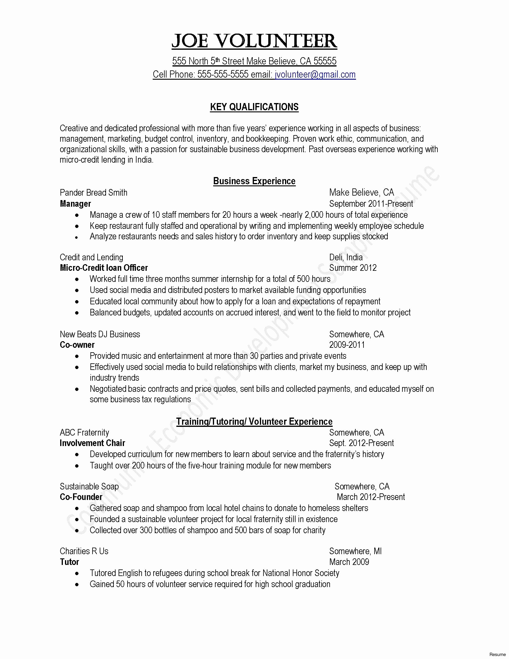 Quick Easy Cover Letter Template