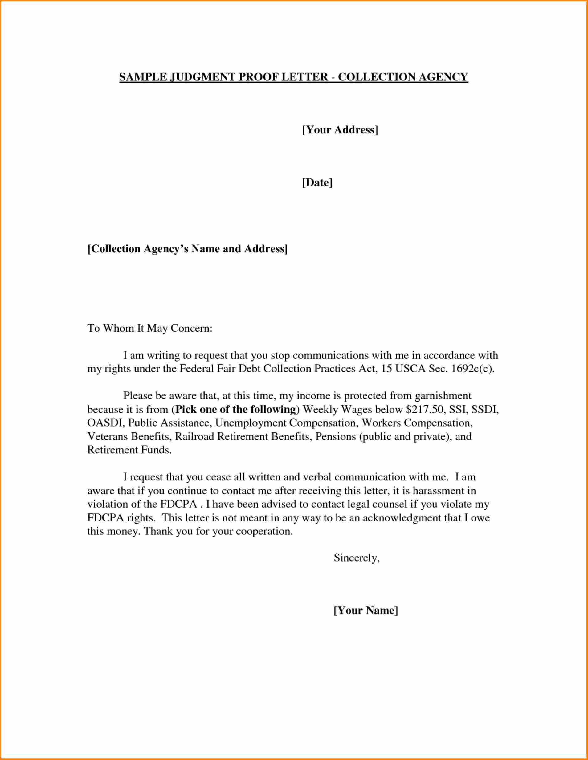 Cp2000 Response Letter Template - Cp2000 Response Letter Sample Awesome 30 Elegant Sample Appeal