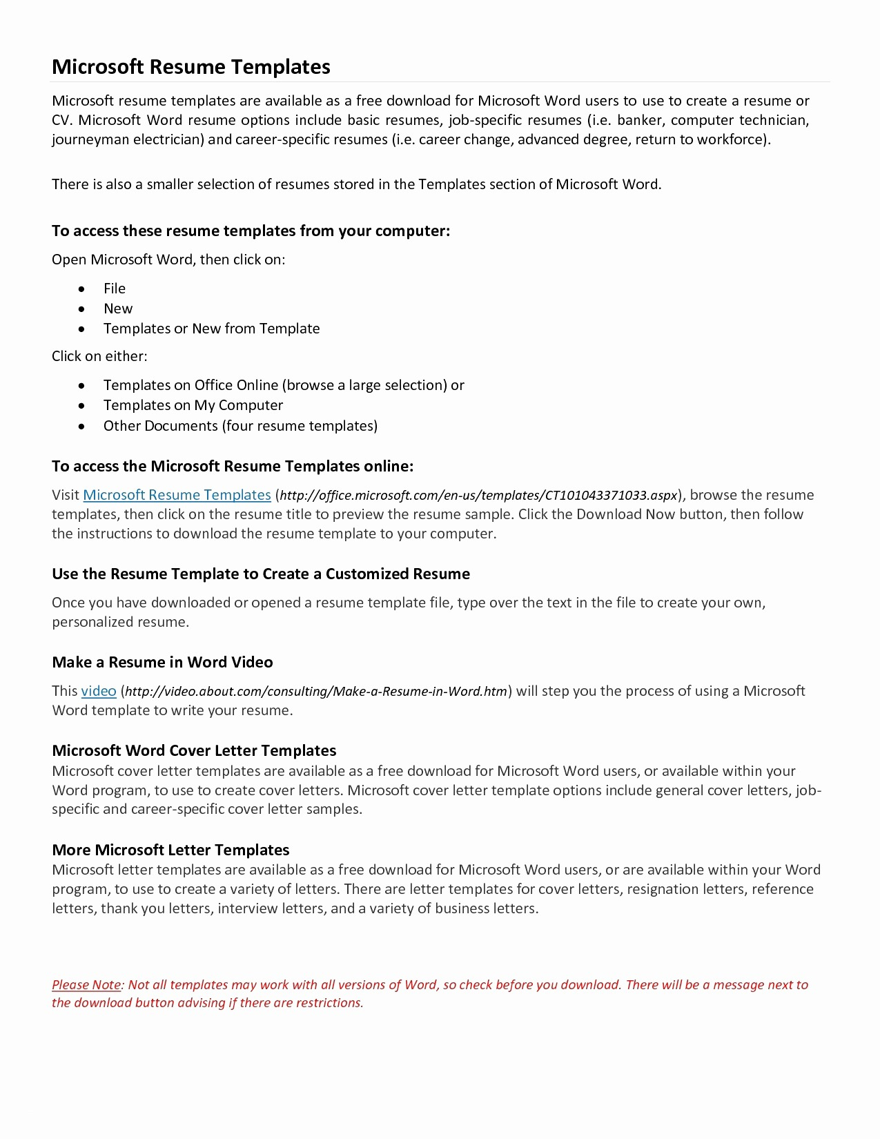 Microsoft Word Cover Letter Template - Creative Resume Sample Unique Microsoft Word Resume Sample Lovely