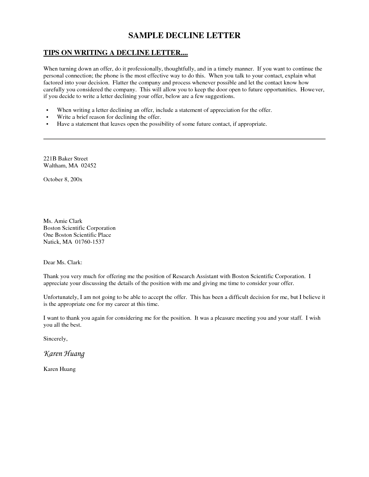 board member invitation letter template example-Decline Invitation Letter This letter template declines an invitation to serve on an organization s board of directors due to other mitments 14-f