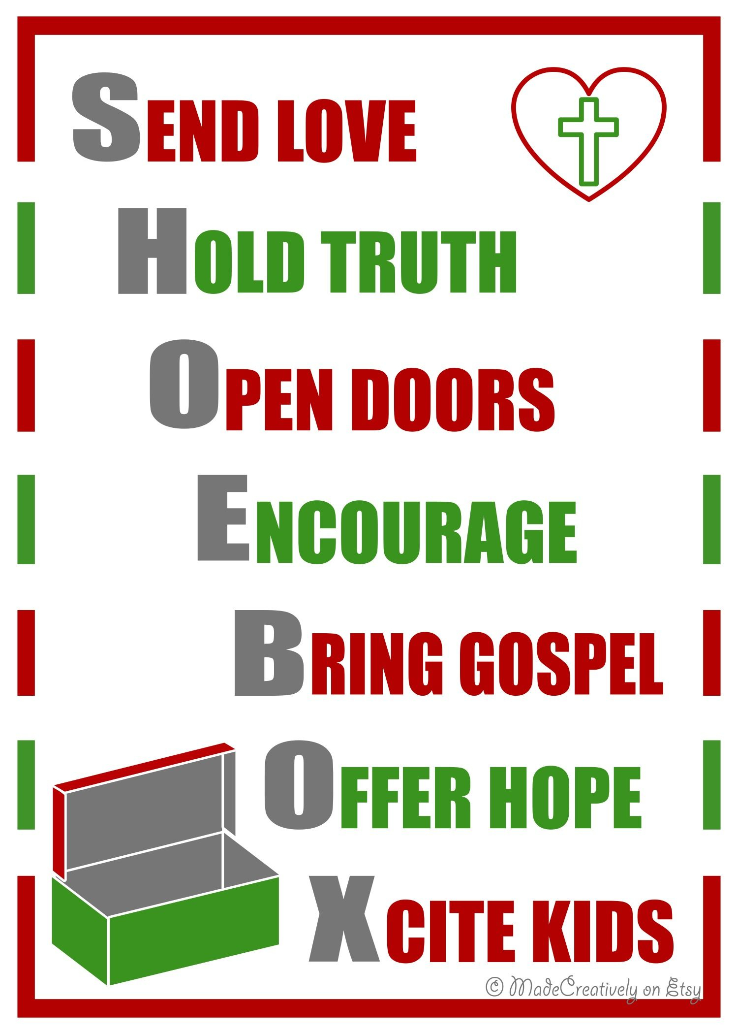 Operation Christmas Child Letter Template Samples