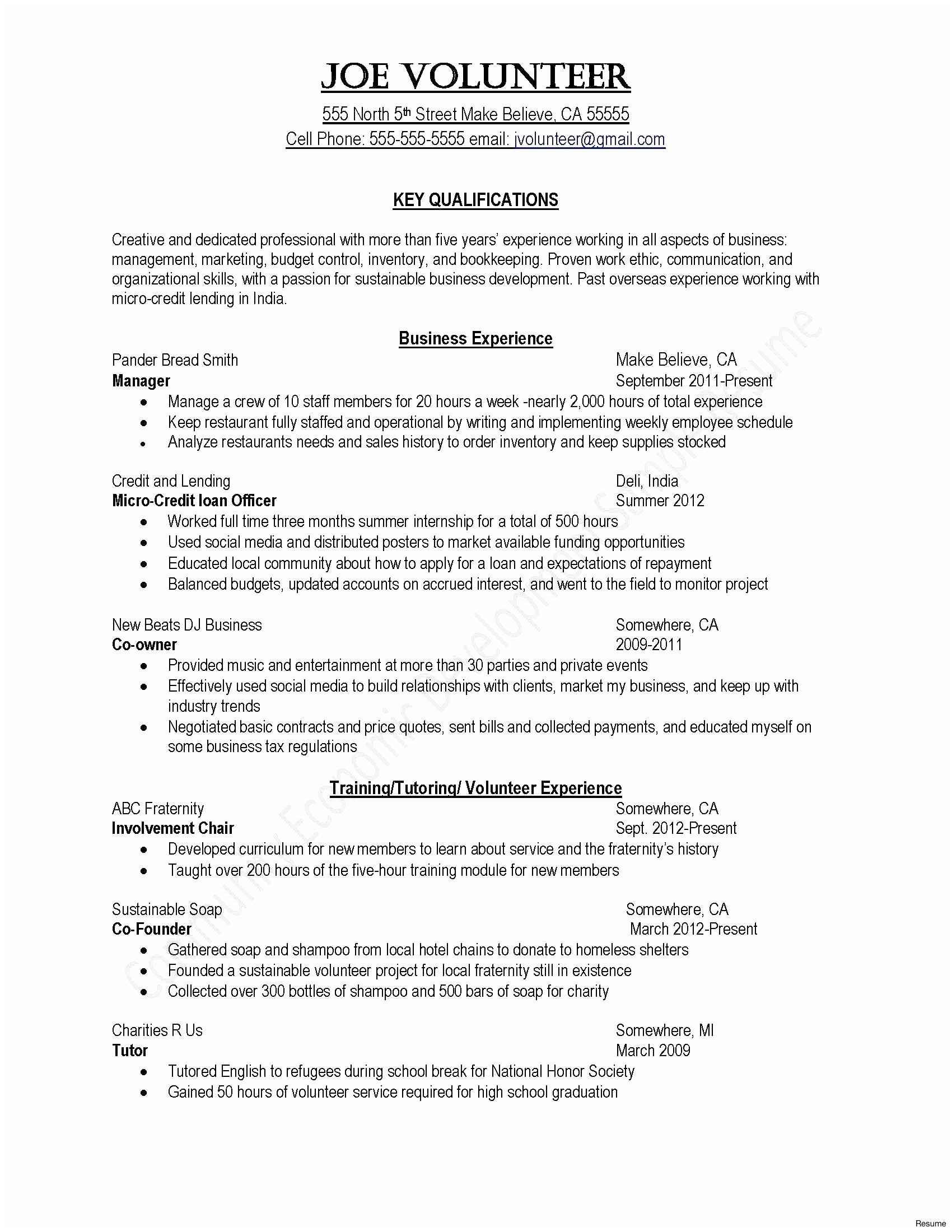 Photography Cover Letter Template - Education Cover Letter Examples New A Good Resume Example New format