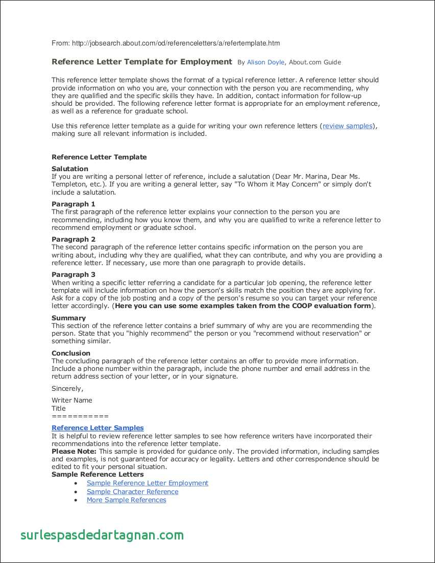 Personal Reference Letter Template Free - Employee Reference Letter Template Happywinner Unique Personal