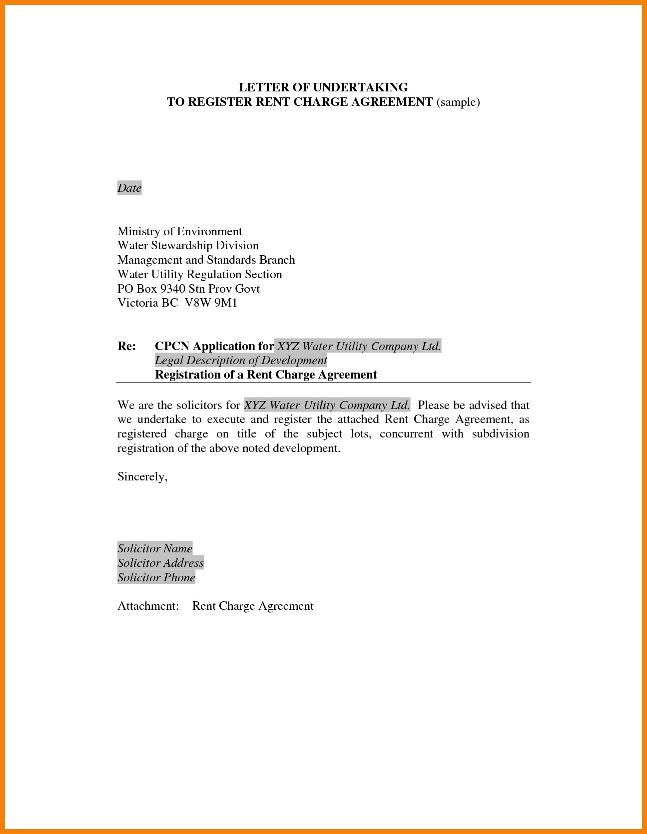 Letter Of Engagement Template Contractor Examples Letter Cover