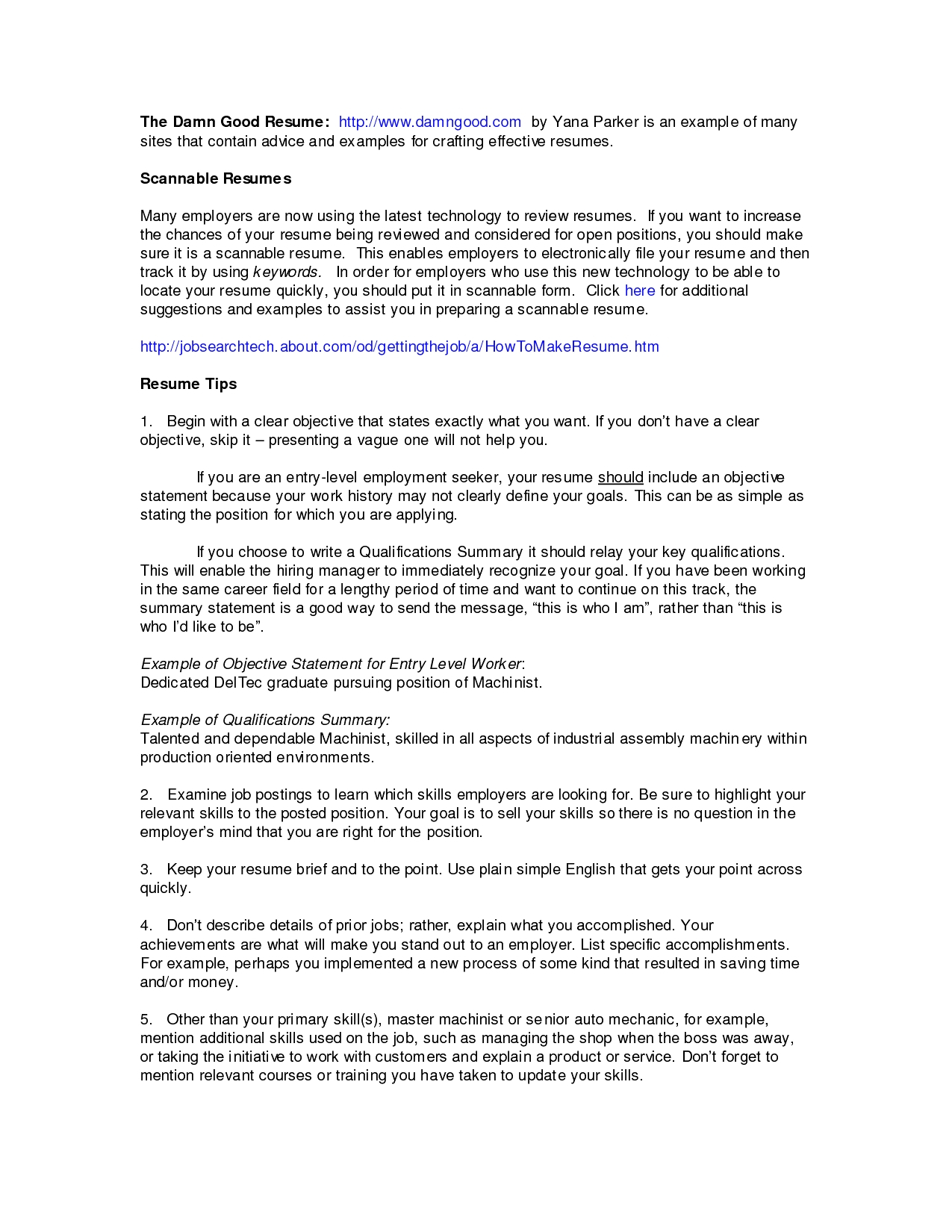 Seek Cover Letter Template Examples