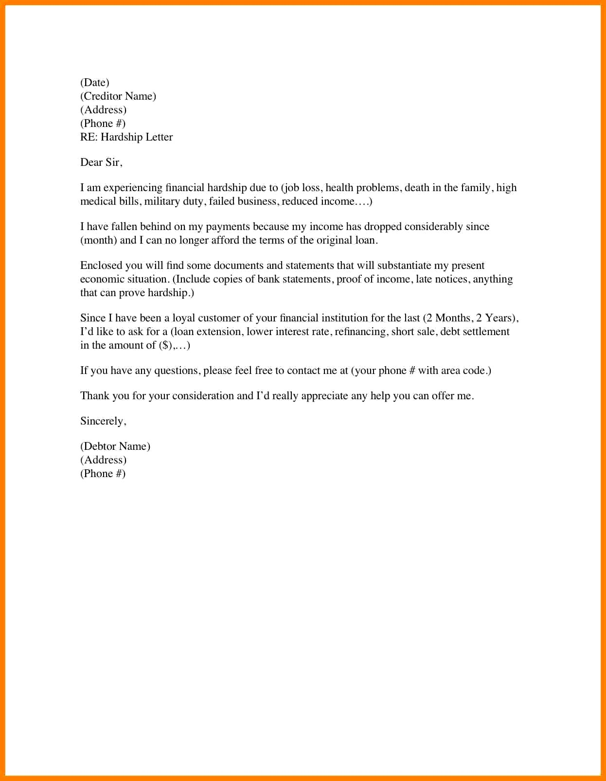 Letter Of Explanation for Cash Out Refinance Template - Example Letter Explanation Job Gap Mortgage Refrence Letter