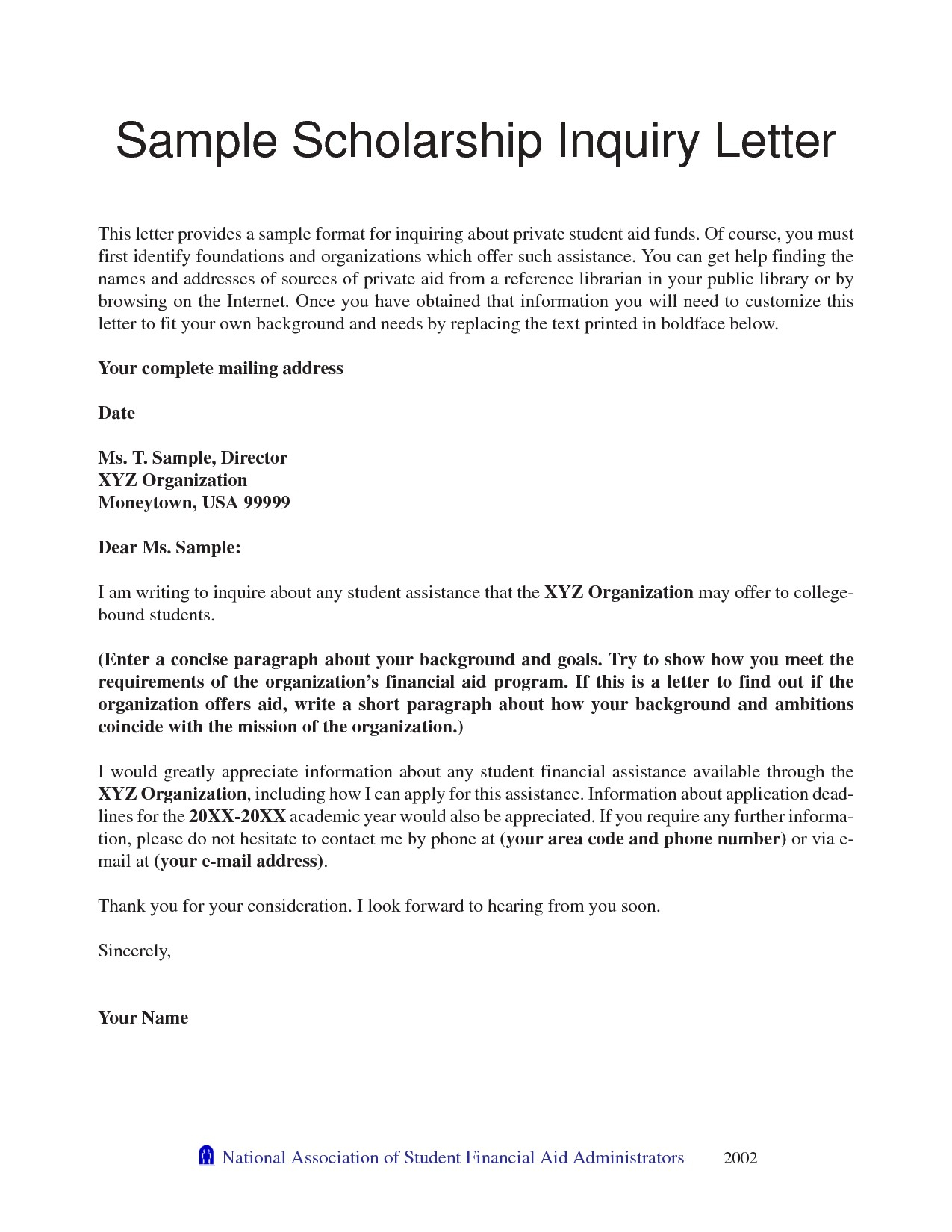 Scholarship Reference Letter Template - Examples Letter Re Mendation for Scholarships Sample College