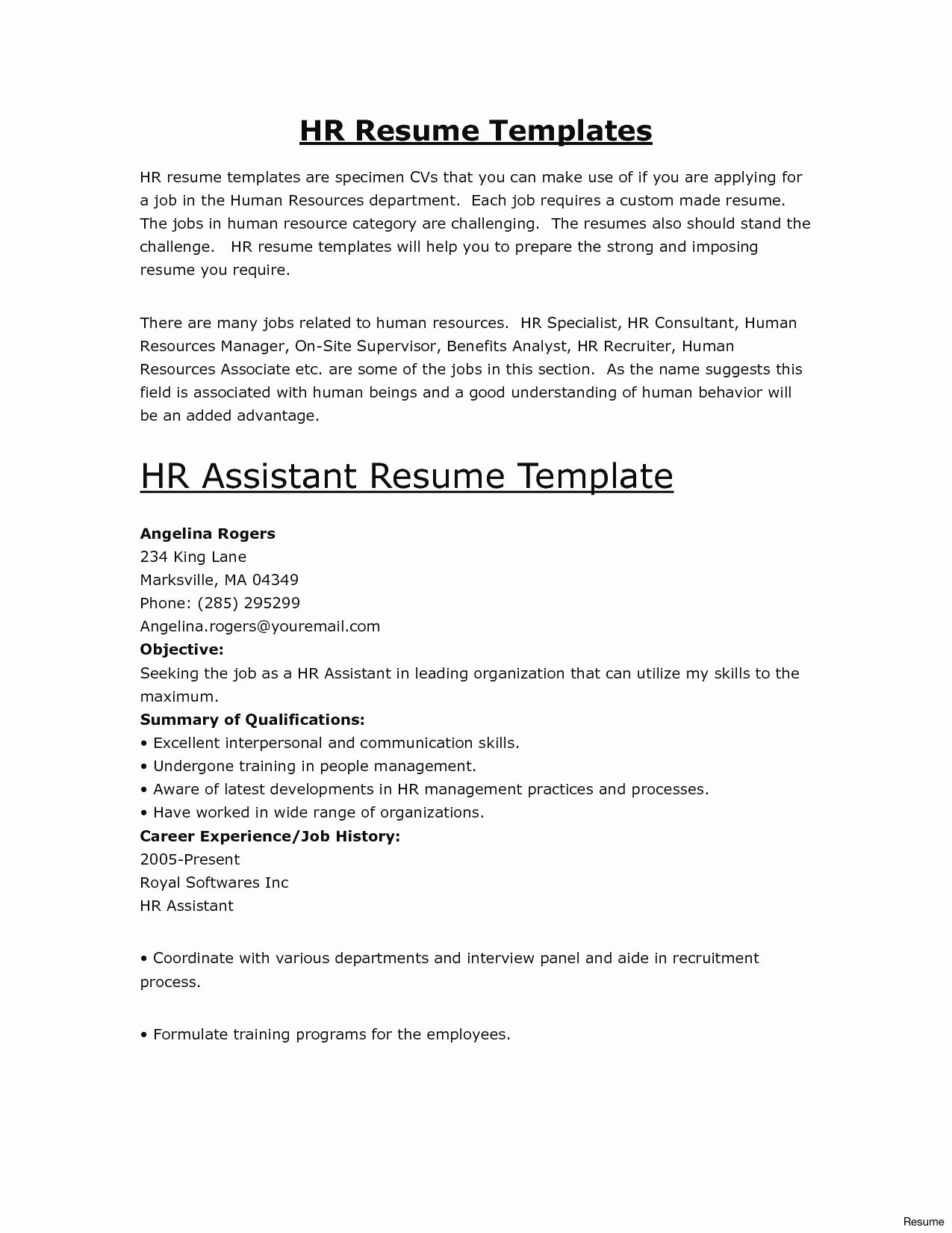Cover Letter Template for Administrative assistant Job - Executive assistant Sample Resume Inspirational Executive assistant
