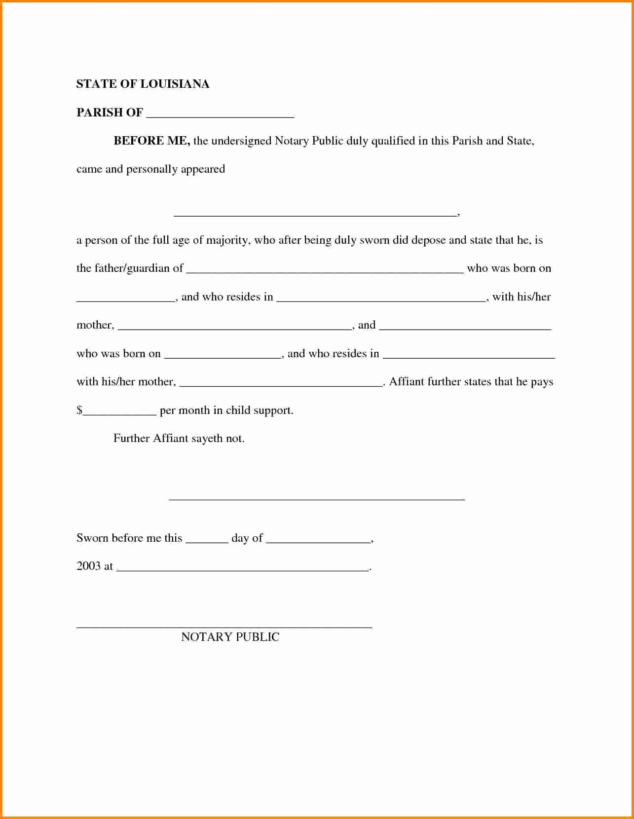 Child Maintenance Agreement Letter Template Samples Letter Cover