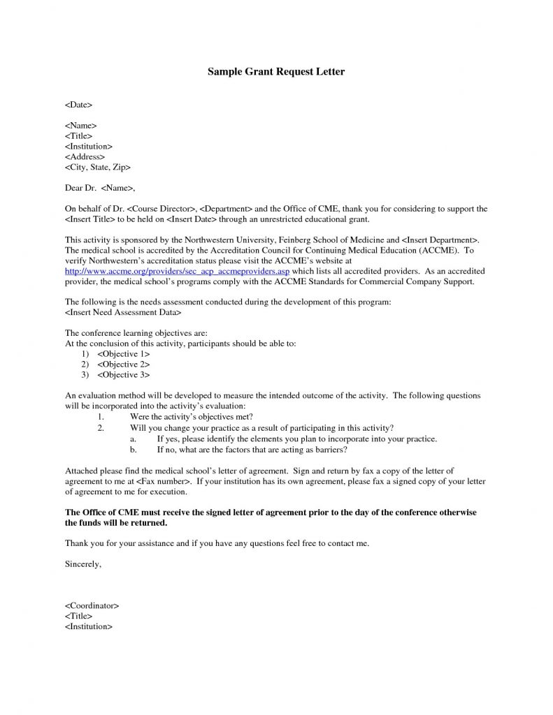 Grant Request Letter Template - formal Letter Template Introduction Copy 7 formal Letter format