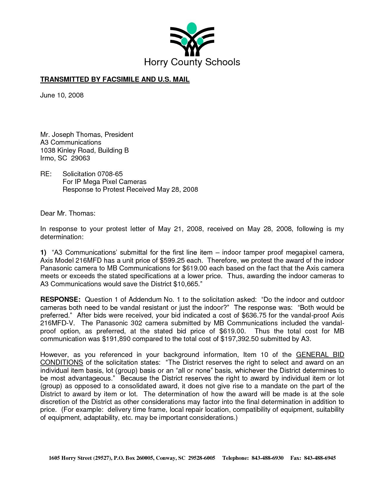 Irs Response Letter Template - format for Business Response Letter New Audit Response Letter Sample